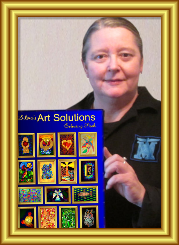 Silvia's Art Solutions Colouring Book For Adults :-)