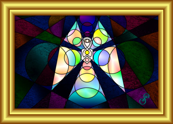 Butterfly Woman Art Solutions Symbol Hybrid by Silvia Hartmann