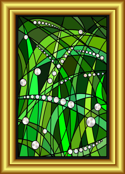 Daily Diamonds Symbol Hybrid Painting by Silvia Hartmann