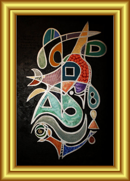 The Artist Symbol Painting by Silvia Hartmann