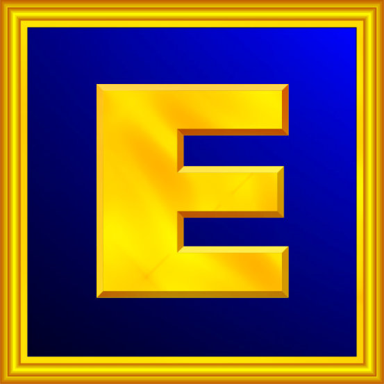 Web version of the Guild of Energists Big E Logo