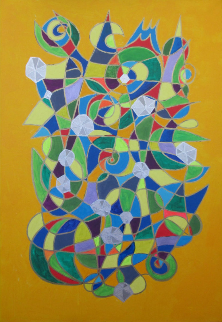 A Call For Transformation Symbol Painting by Silvia Hartmann