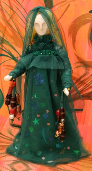 Art Doll Spirit Doll The Swamp Witch by Starfields