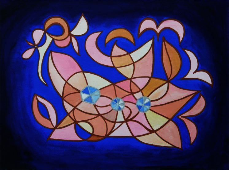 Painting from the 2010 Energy Art Exhibition