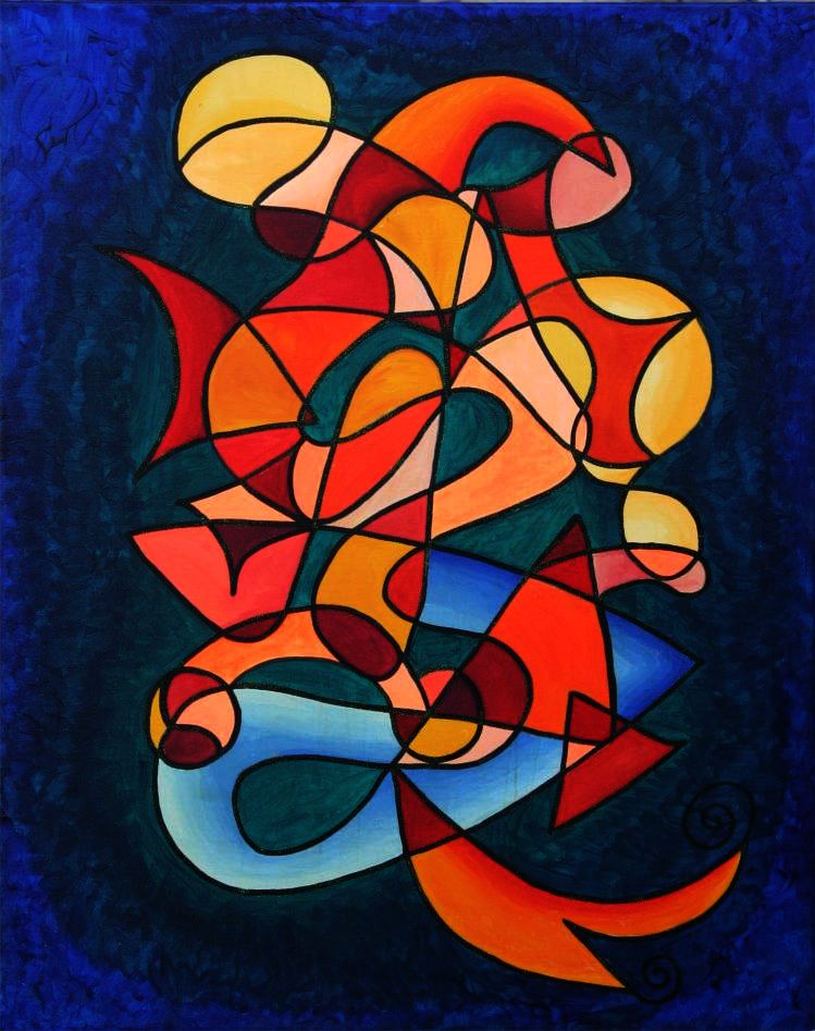 Success! Art Solutions Symbol Painting by Silvia Hartmann