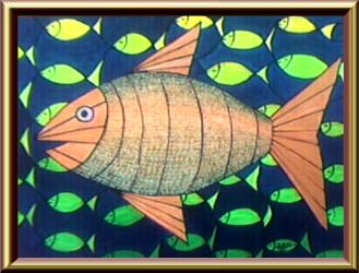 Interlacement With Fish, Silvia Hartmann, 1996