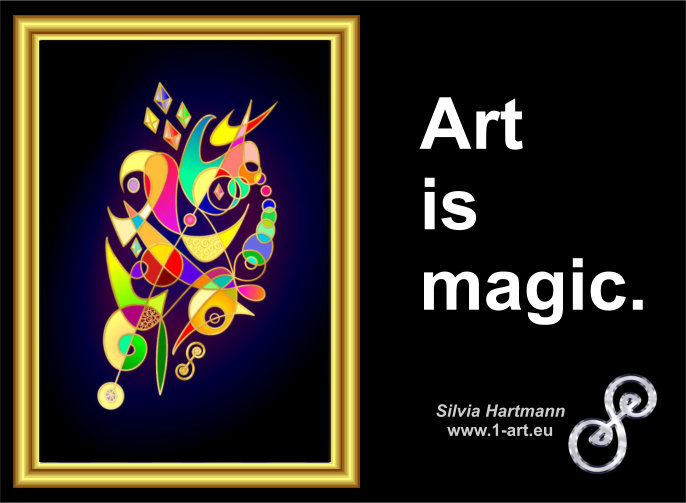Art Is Magic Art Quote
