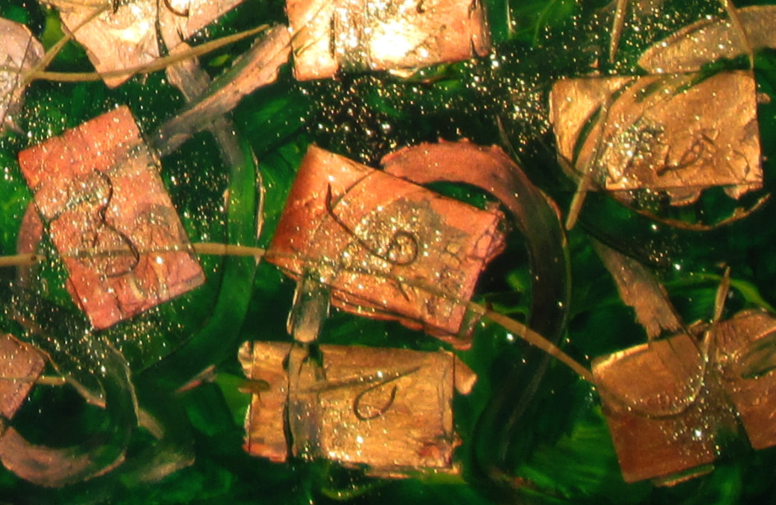 Detail of Connections painting