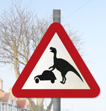 Funny Road Signs & The Truth Is A Pathless Land