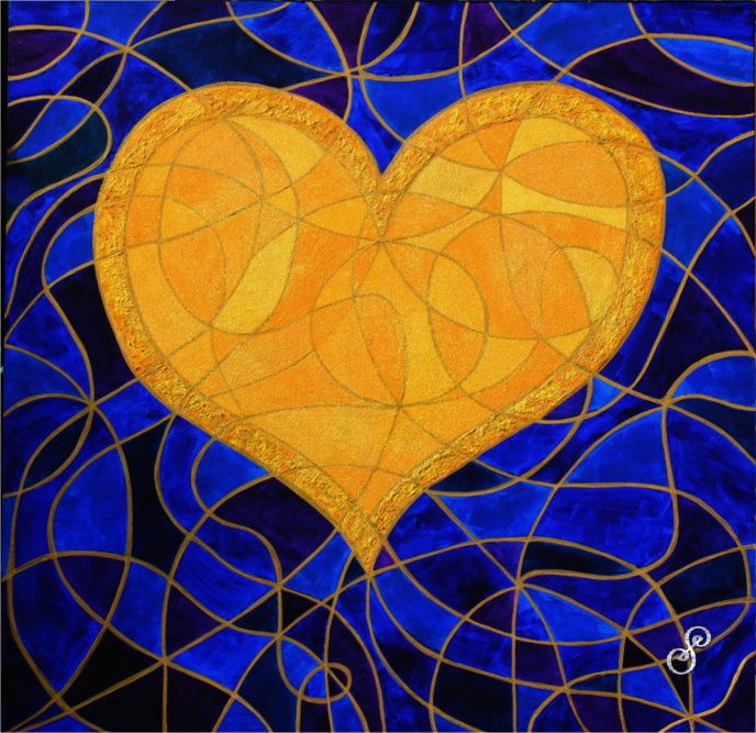 The Heart of Gold Painting