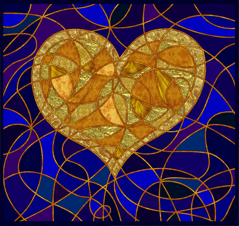 Heart of Gold Vector Version 1