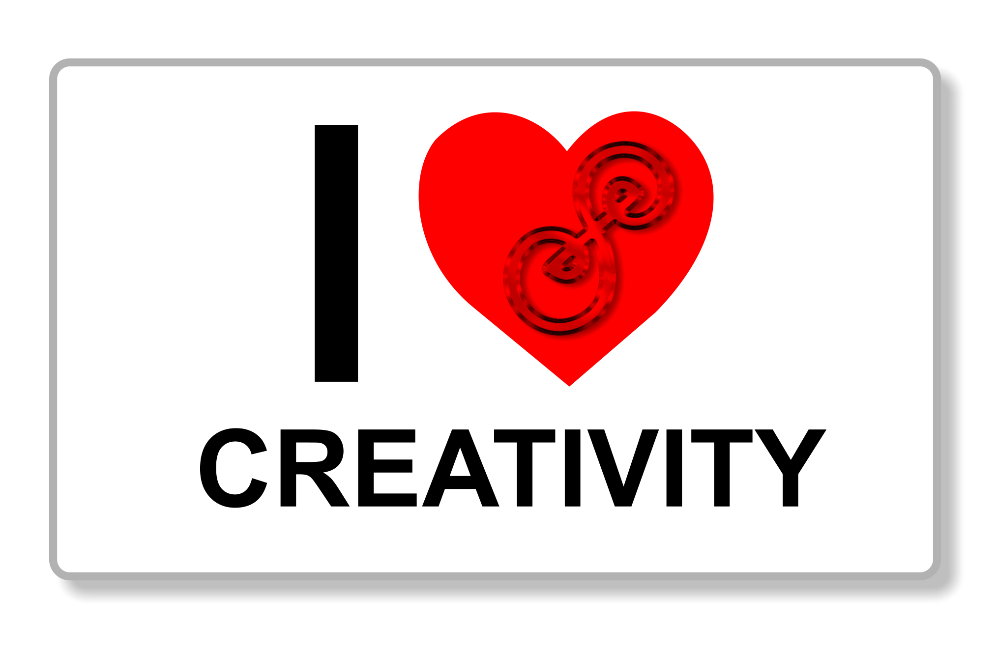 I heart creativity