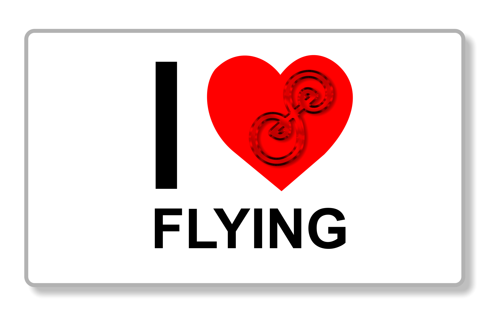 I heart flying