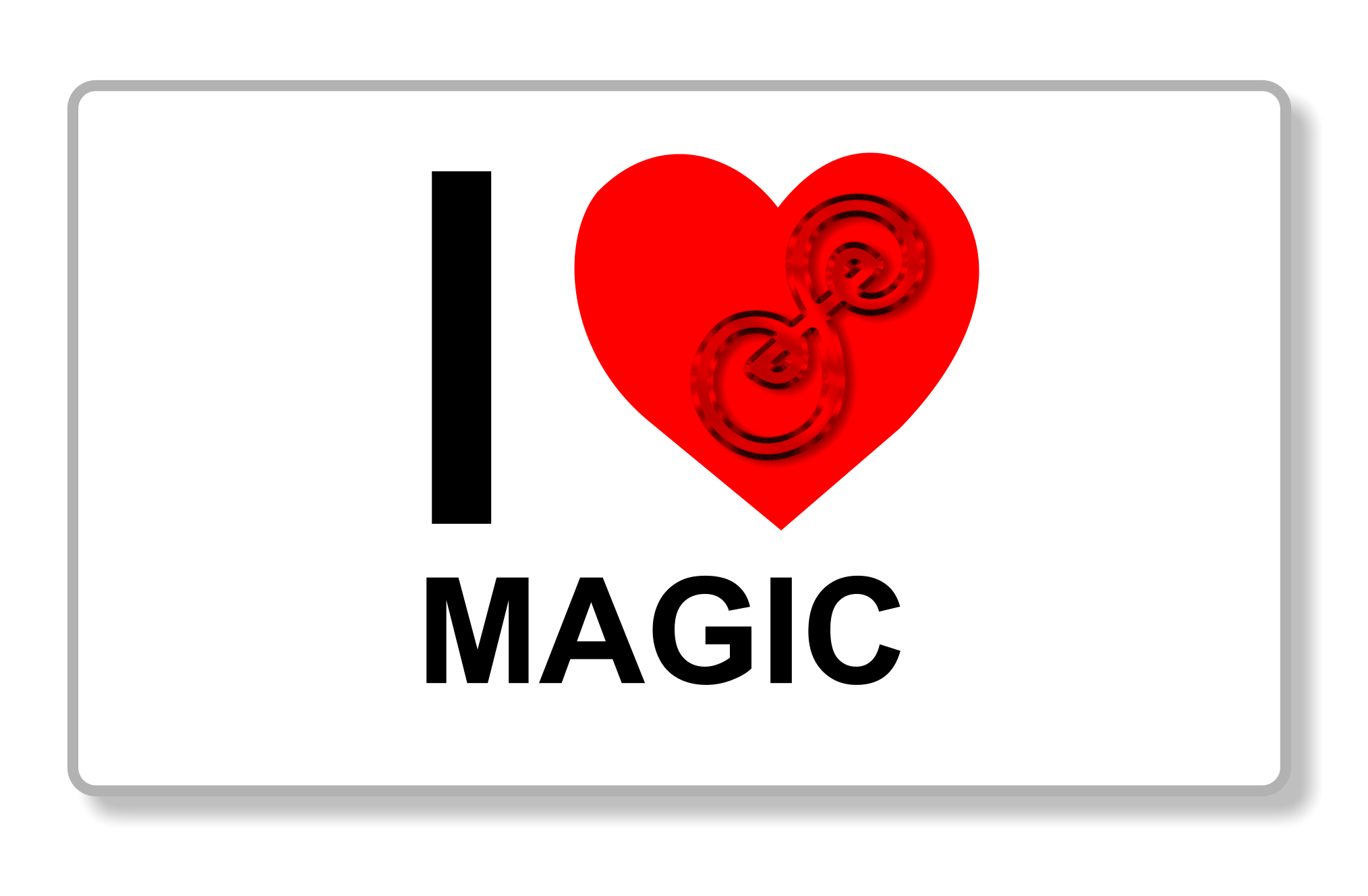 I heart magic