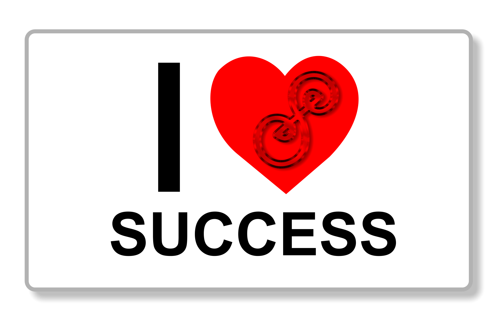 I heart success