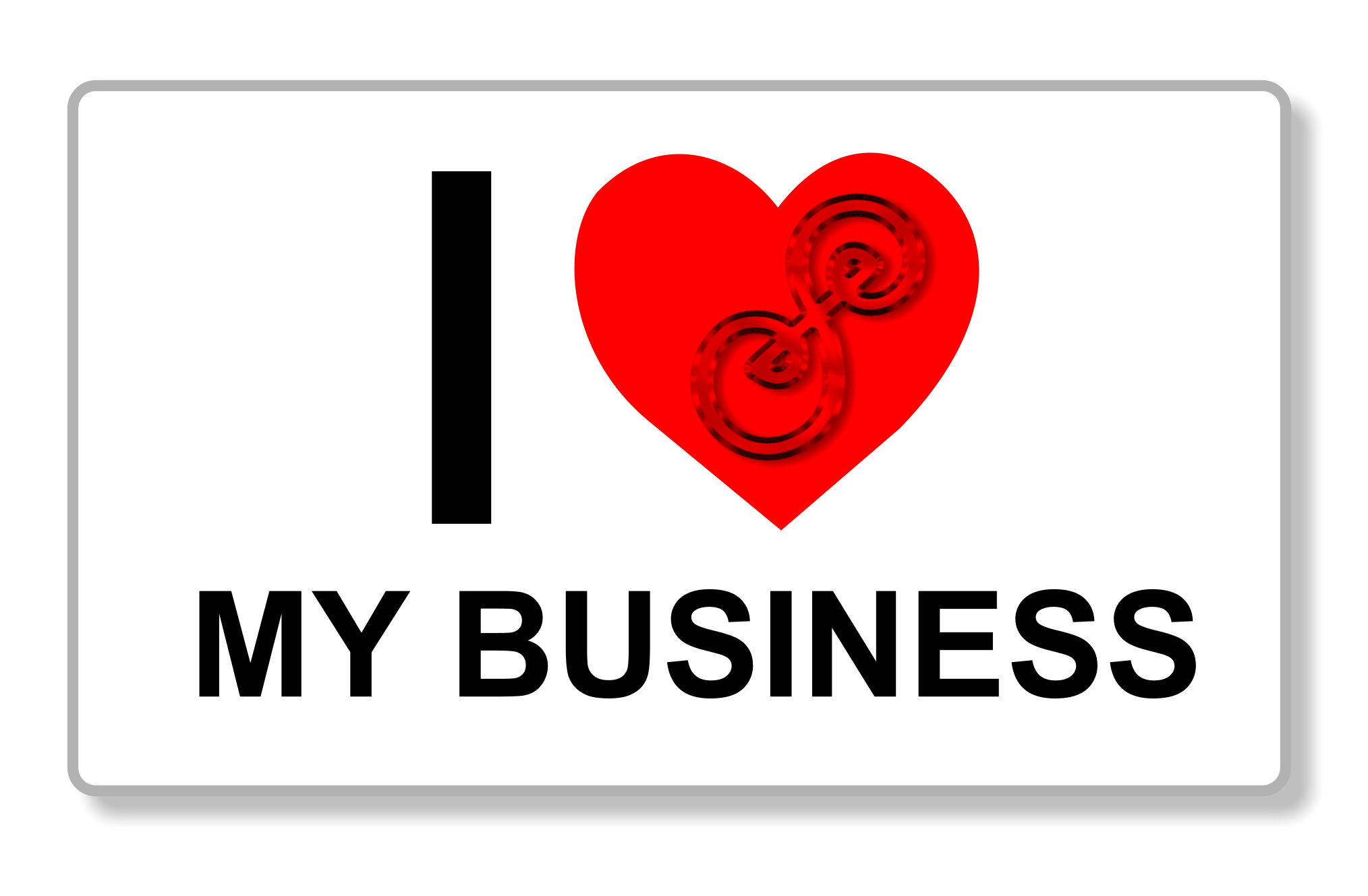 I heart my business
