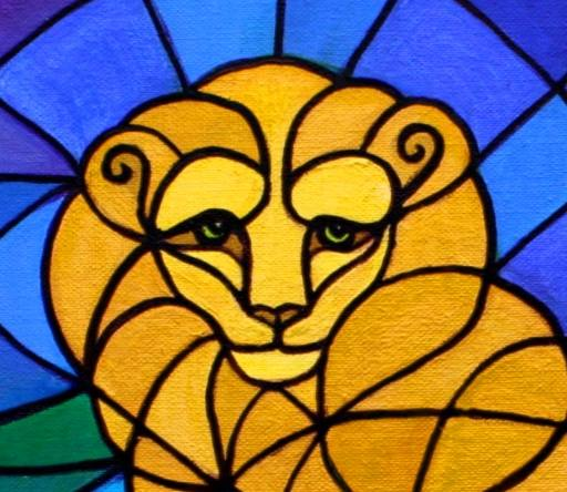 Leo The Lion Painting