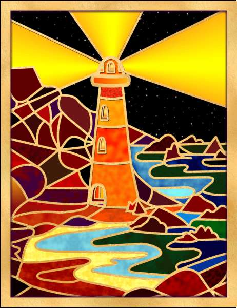 Lighthouse 2009 - Vector Drawing