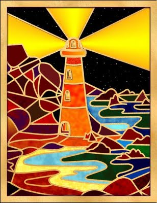 Energy Art Example: The Lighthouse by StarFields