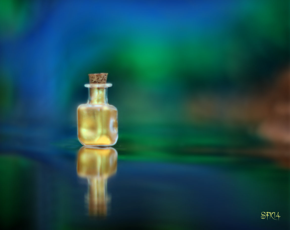 Soul Potion Magic Bottle