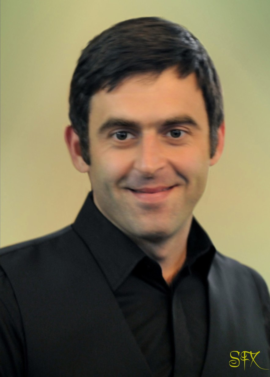 Ronnie O'Sullivan Snooker Portrait Image Picture