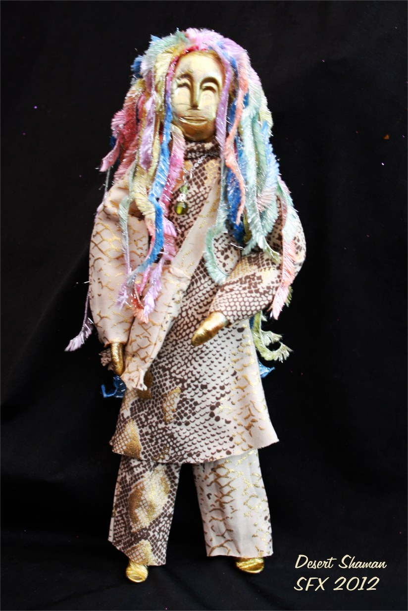 The Sand Shaman Spirit Doll