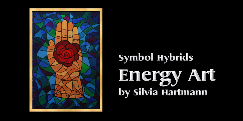 Symbol Hybrid Paintings by Silvia Hartmann