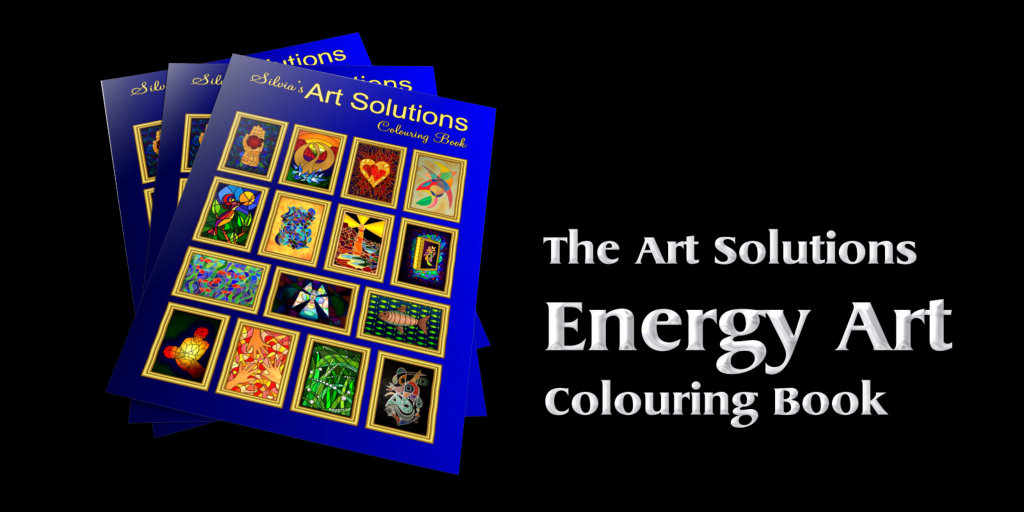 Art Solutions Energy Art Colouring Book