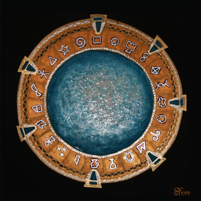 Stargate symbols The Genius symbols image/picture/painting