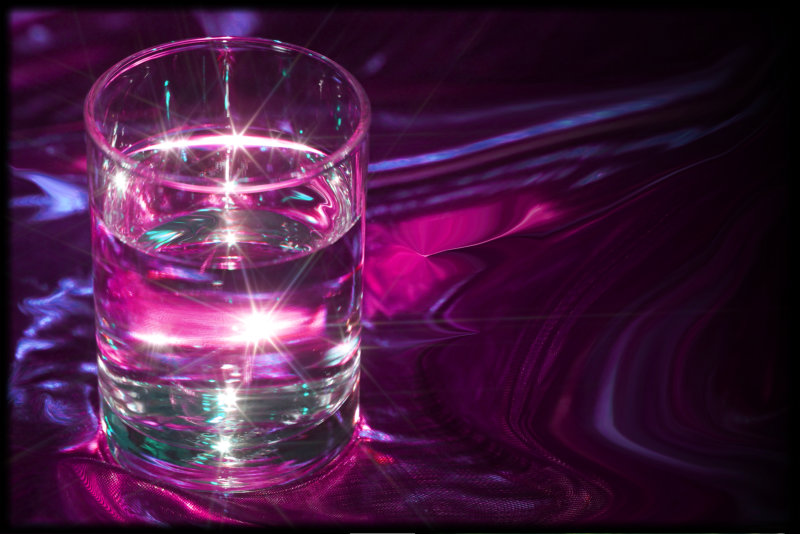 Magic Fantasy Water Purple - Magic Glass of Water