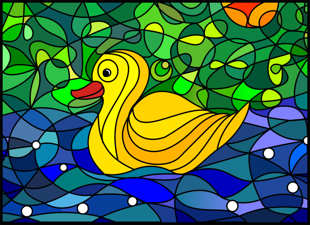 Yellow Duck Vector Version